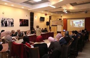 """جمعية الخريجات الجامعيات في قطاع غزة ومؤسسة الرؤيا الفلسطينية في مدينة القدس تنهيان أنشطة مبادرة """"بتعرفني؟"""""""