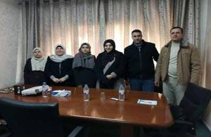 جمعية الخريجات الجامعيات تستقبل وفداً من بلدية الزوايدة لبحث سبل التعاون المشترك