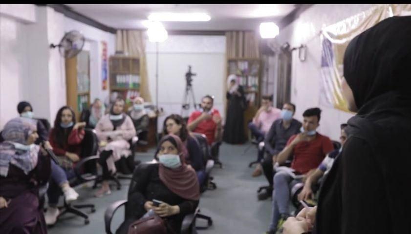 """""""حمام السلام ودعنا، وأمسى الغول يتبعنا""""  """"الغول"""" فيلم يستعرض معاناة الفلسطينيين بطريقةٍ مبتكرة"""